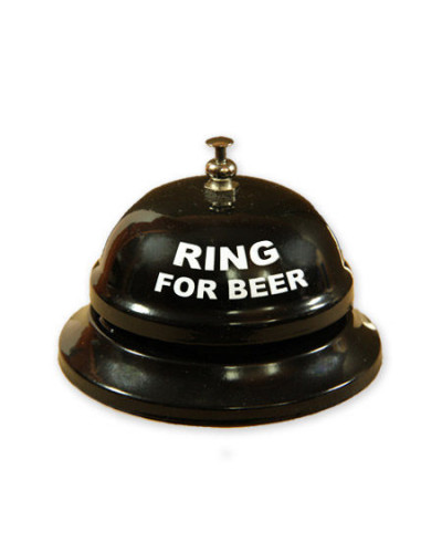 "Hotelli kell ""Ring for beer"""
