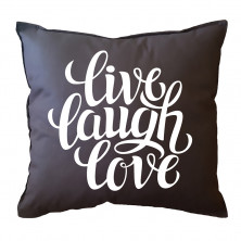 "Dekoratiivne padi ""Live, Laugh, Love"""