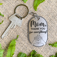 """Võtmehoidja """"Mom, thank you for everything"""""""