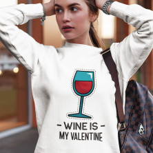 "Pusa  ""Wine is my Valentine"" (ilma kapuutsita)"