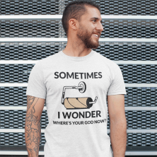"T-särk ""Sometimes I wonder"""
