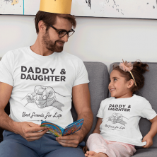 "T-särkide komplekt ""Daddy & Daughter"""