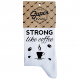 "Naiste sokid ""Strong like coffee"""