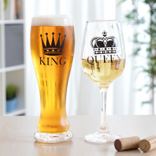"Klaaside komplekt ""King & Queen"""