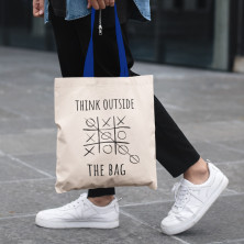 "Riidest kott ""Think outside the bag"""