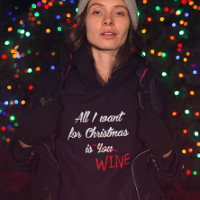"Pusa ""All I want for christmas is WINE"""